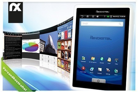 Pandigital Novel Multimedia eBook Reader für 124 EUR bei Groupon