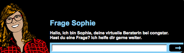 Sophie Support Chat